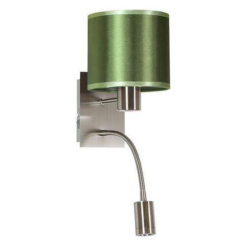 Candellux Kinkiet lampa ścienna sylwana 21-29447 abażurowa oprawa peszel led 3w 3000k pasteri maserlo zielona
