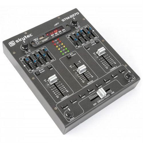 Skytec Stm-2270 4-kanałowy mikser bluetooth usb sd mp3 fx