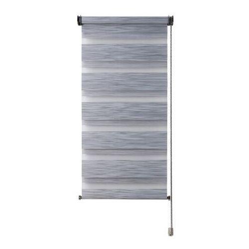 Roleta dzień/noc Colours Kala 51,5 x 180 cm szara