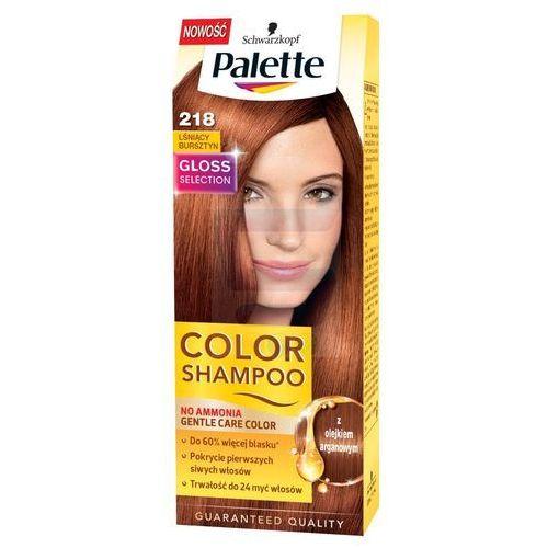 color shampoo szampon koloryzujący nr 218 lśniący bursztyn marki Palette