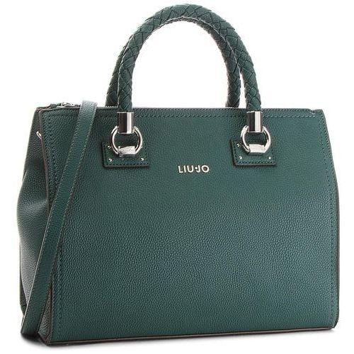Liu jo Torebka - m satchel zip manhat a68093 e0011 botanical garden 95220