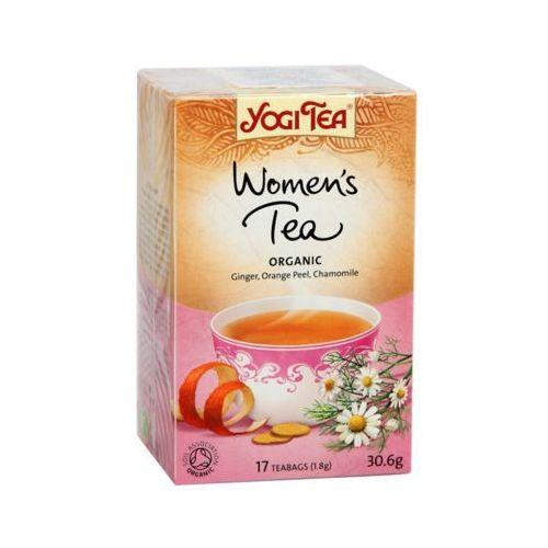 17x1,8g herbata organic dla kobiet bio marki Yogi tea