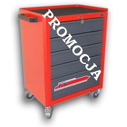 Szafka narzędziowa z 5 szufladami (prowadnice kulkowe) n-1-02-02p marki Fastservice