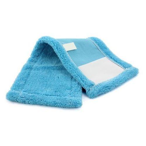 Mop płaski niebieski kieszeniowy mikrofibra 40 cm marki Cleanpro