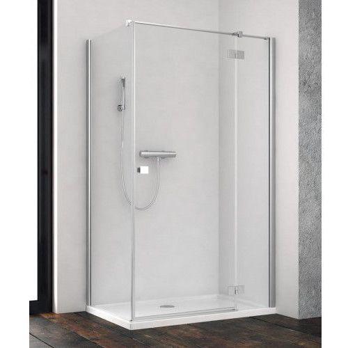 essenza new kdj 80 prawe x110 wys. 200 cm szkło przejrzyste 385043-01-01r/384053-01-01 marki Radaway