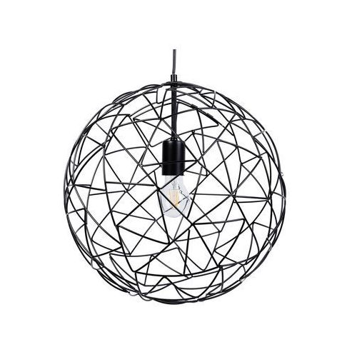 Lampa wisząca metalowa czarna LEMME (4260580927692)