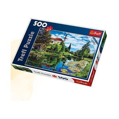 Puzzle 500 Jezioro Chiemsee, Bawaria TREFL (5900511371932)
