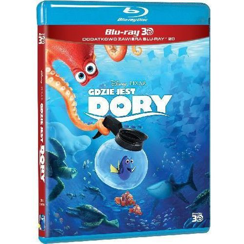 Gdzie jest Dory 3D (Blu-ray) - Andrew Stanton (7321917506014)