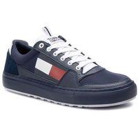 Sneakersy - lightweight tommy jeans sneaker em0em00320 ink 006, Tommy jeans, 40-46