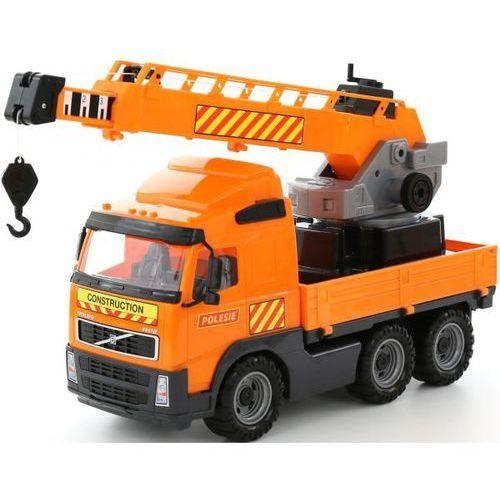 Polesie Volvo ciężarówka dzwig z długim ramieniem 8824