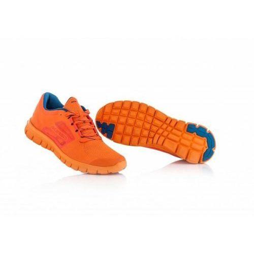 buty sportowe treningowe orange fluo marki Acerbis