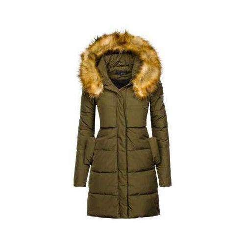 Kurtka zimowa damska khaki Denley 8063, zimowa