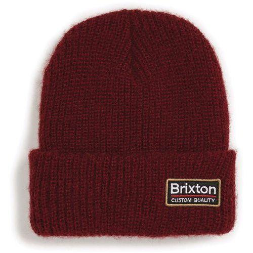 Brixton Czapka zimowa - palmer ii beanie burgundy (brgdy) rozmiar: os