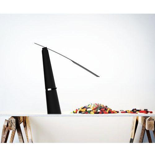 Orlicki design Libro nero lampa niska stojąca