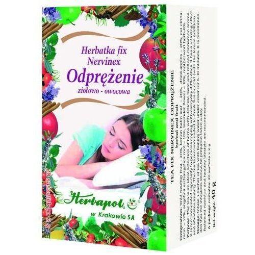 Herbatka fix nervinex odprężenie x 20 saszetek marki Herbapol kraków