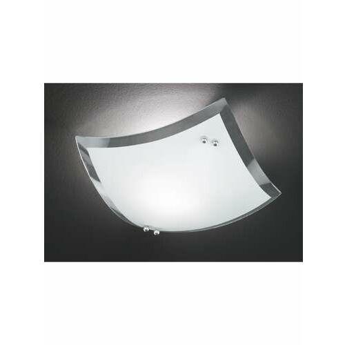 Trio 6014 lampa sufitowa Chrom, Biały, 1-punktowy - Nowoczesny/Design - Obszar wewnętrzny - 6014 - Czas dostawy: od 4-8 dni roboczych