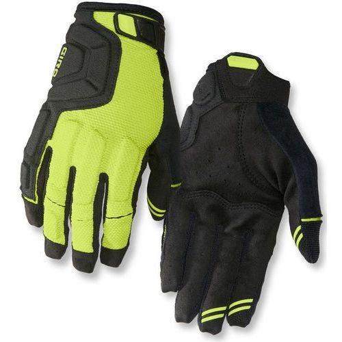 remedy x2 rękawiczka rowerowa mężczyźni żółty/czarny xl 2018 rękawiczki mtb marki Giro