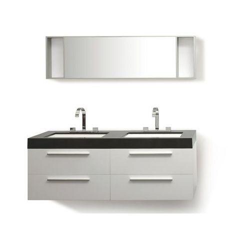 Zestaw mebli łazienkowych biały MALAGA