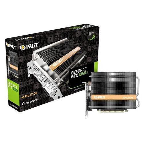 Karta graficzna Palit GeForce GTX1050Ti KalmX 4GB GDDR5 (128 Bit) DVI, HDMI, DP, BOX (NE5105T018G1H) Darmowy odbiór w 20 miastach!, NE5105T018G1H