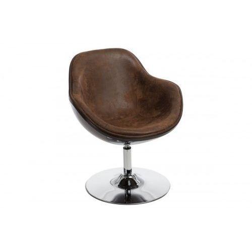 Fotel Pezzo (brązowy vintage) D2 (5902385723732)
