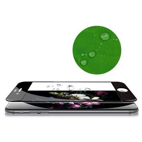 Szkło ochronne z ramką 3D Glass Screen Protector Apple iPhone 6 Plus / 6S Plus Czarne - Czarny (6954661846153)