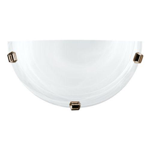 Lampex K1 Duna 211/K1 ST BIA PAT kinkiet lampa ścienna 1x60W E27 biały / patyna (5902622104324)