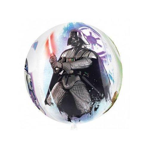 Balon foliowy star wars - 38 x 40 cm - 1 szt. marki Amscan