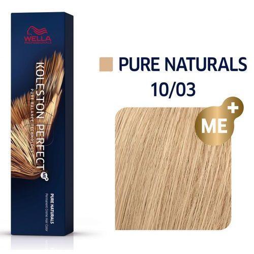Wella koleston perfect me+   trwała farba do włosów 10/03 60ml marki Wella professionals