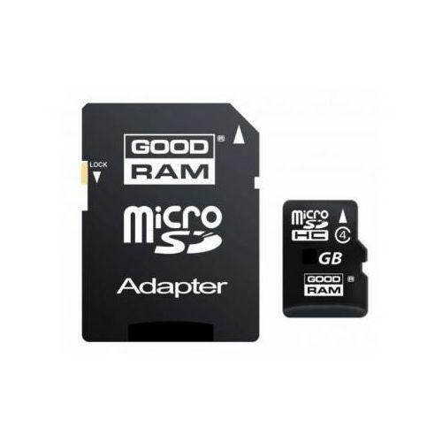 Goodram Mikro-karta pamięci/zapisu flash sd/hc 32gb + adapter sd.