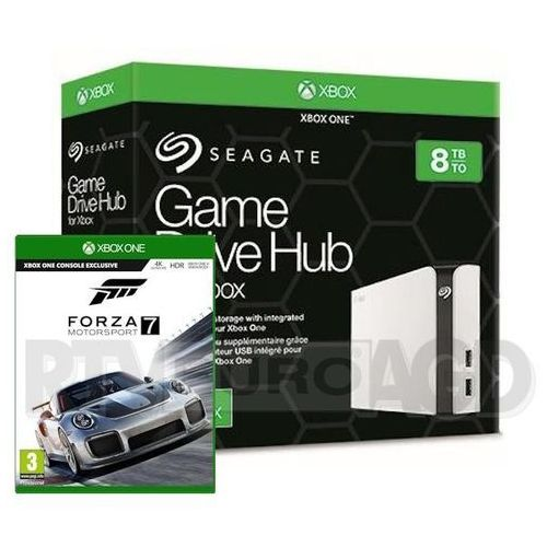 game drive hub 8tb dla xbox one stgg8000400 + gra forza motosport 7 marki Seagate