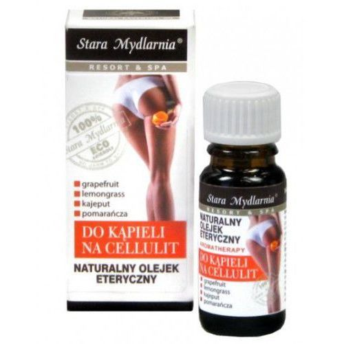 Naturalny olejek eteryczny 12 ml - do kąpieli na cellulit marki Stara mydlarnia