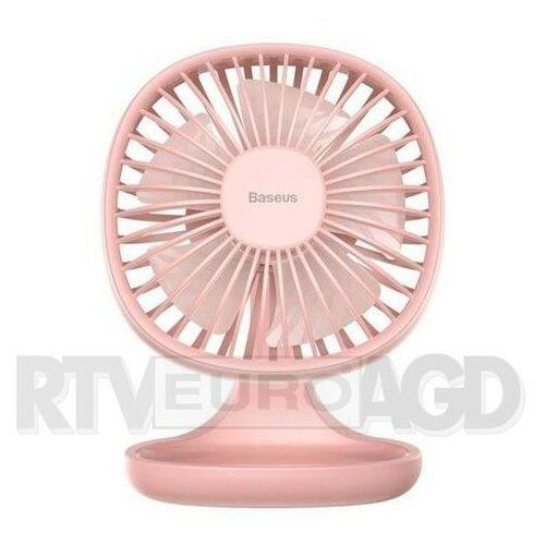 Wentylator biurkowy Baseus Pudding-Shaped CXBD-04 (kolor różowy)