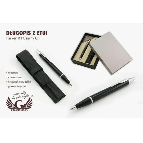 Długopis PARKER IM czarny CT z etui - PAR063-SW7