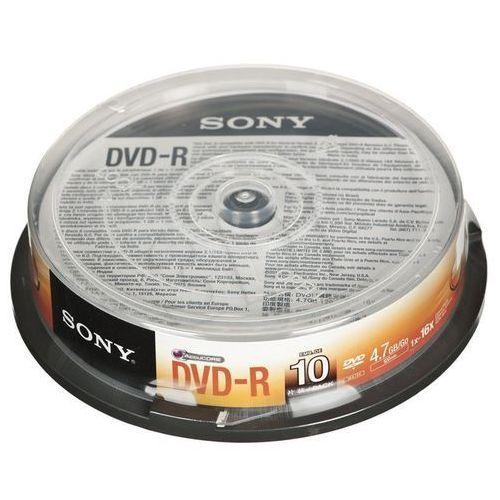 Płyty dvd-4,7gb 16x cake - 10szt. marki Sony