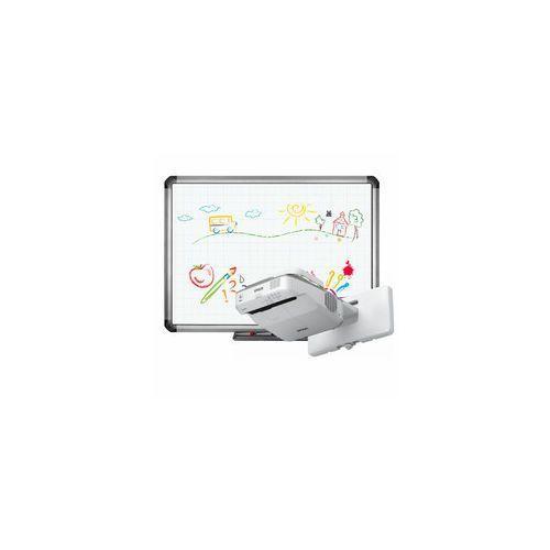 Tablica interaktywna truboard r5-800e+ projektor ultra short epson eb-670 z uchwytem marki Newline