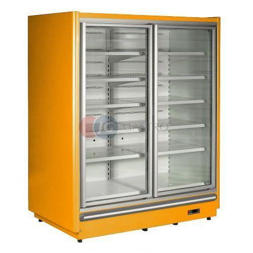 Szafa mroźniczo-chłodnicza 2-drzwiowa przeszklona ekspozycyjna Oslo OS 2D/80, SZ-1 OS 2D/80
