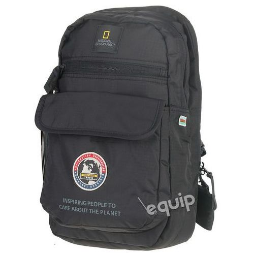 Torba na ramię National Geographic Explorer Sling Bag - czarny, kolor czarny