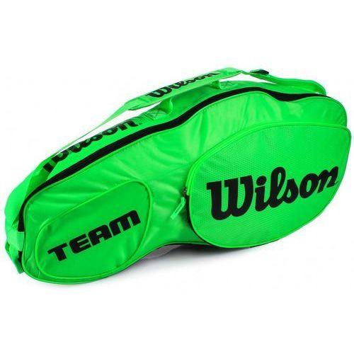 Wilson team iii 3pack bag green black
