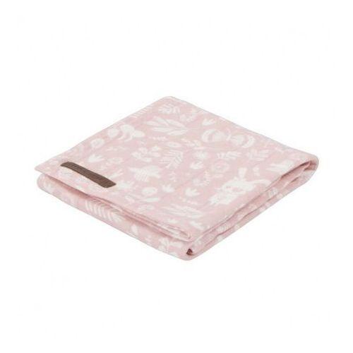 Little dutch Otulacz - adventure pink - 120x120 cm -