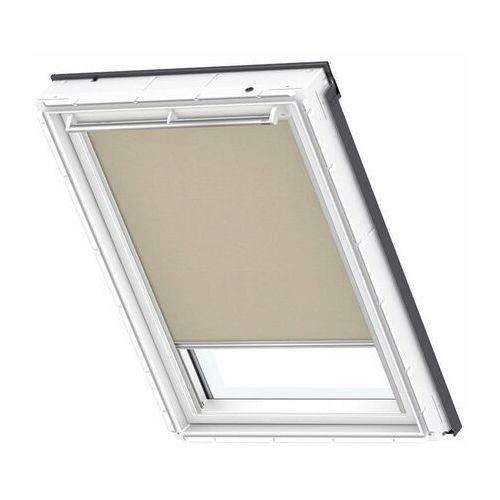 Roleta na okno dachowe VELUX dekoracyjna Premium RSL FK06 66x118 solarna (5702328192652)