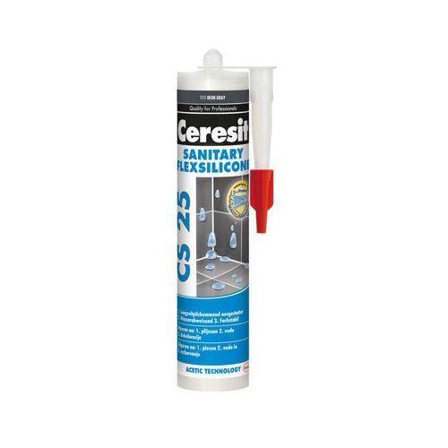Silikon sanitarny CS-25 280 ml jasno szary CERESIT, 2404353