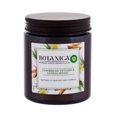 Air Wick Botanica Caribbean Vetiver & Sandalwood świeczka zapachowa 205 g unisex