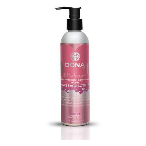 Balsam do masażu nuru lomi lomi- massage lotion 250 ml owocowy marki Dona