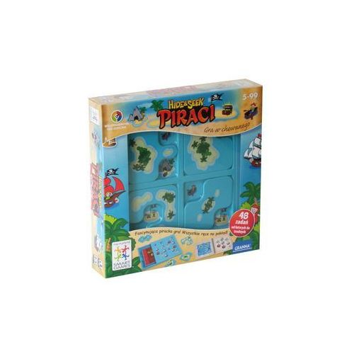 Granna Gra logiczna piraci hide&seek smart games