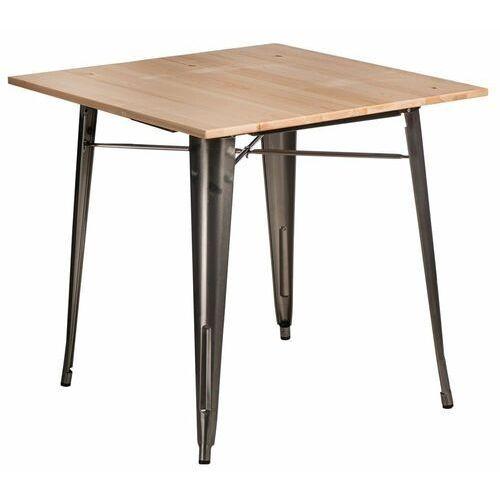 Stół Paris Wood metal sosna naturalna