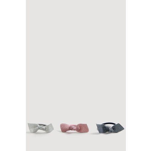 Mango kids - gumki do włosów dziecięce shinny (3 sztuki)