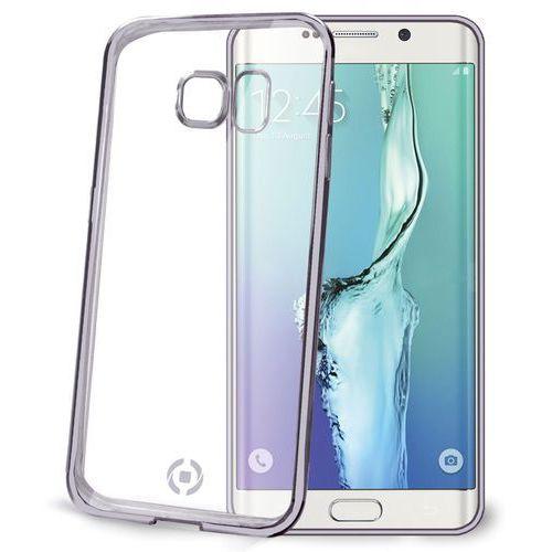 Etui CELLY Bumper BCLS6EDS do Galaxy S6 Edge Ciemnosrebrny (Futerał telefoniczny)