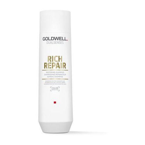 dualsenses rich repair szampon regenerujący do włosów suchych i zniszczonych (shampoo) 250 ml marki Goldwell