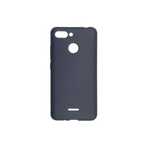Xiaomi Redmi 6 - Mercury Goospery Soft Feeling - granatowy, kolor niebieski