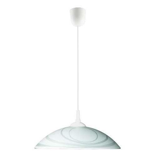 Lampex Nebraska Z1 676/Z1 lampa wisząca zwis 1x60W E27 biały